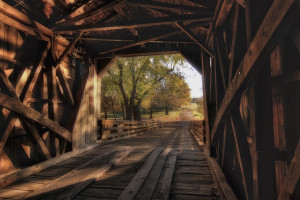 Sugar Creek Covered Bridge 2  Glenarm IL
